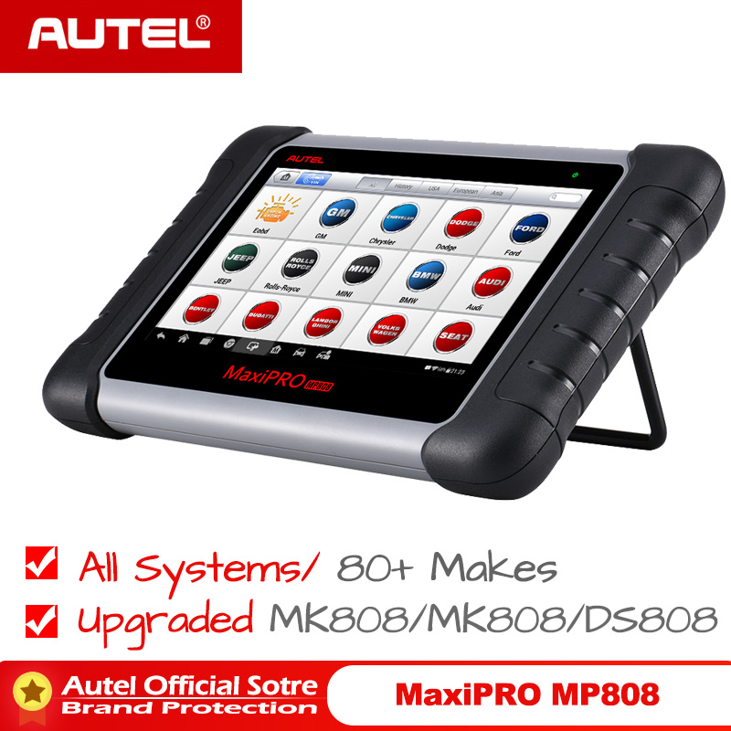 Autel MaxiPRO MP808 Auto Diagnostic Tool Full Systems Auto ECU IMMO Key Diagnostic Scan Tool Upgraded MK808 MX808 DS708-in Engine Analyzer from Automobiles & Motorcycles