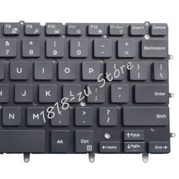 Bilgisayar ve Ofis'ten Yedek Klavyeler'de YALUZU arkadan aydınlatmalı dizüstü bilgisayar dell için klavye Inspiron XPS 13 7000 7347 7348 7352 7353 7359 15 7547 7548 9343 9360 N7548 p54G P57G