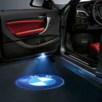 LED Car Door Welcome Light Laser Shadow Led Lighting Projector For BMW F30 E60 E61 E63