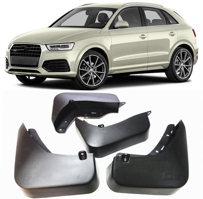 Новый автомобиль Брызговики Грязь Брызговики подходят для 2015-2018 Audi Q3 крыло 4 шт./компл.