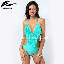 2016 borlas Atractivas de Una Pieza del traje de Baño venta Caliente Mujeres Sexy traje de Baño Biquine Beachwear de una pieza del traje de baño del verano Brasileño