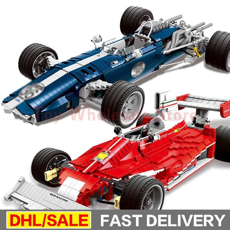 купить In Stock XINGBAO 03022 + 03023 Genuine The Blue Racing Car Set Building Blocks Bricks Educational Funny Toys As Gifts For Kids по цене 11763.57 рублей