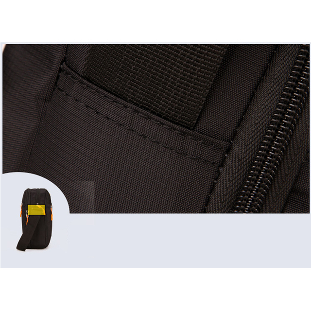 Flap Crossbody Bags For Men High Quality Wateproof Oxford Single Shoulder Strap