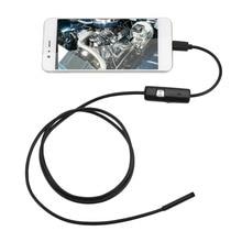 안 드 로이드 pc에 대 한 6 LED 5.5/M 소프트 케이블 방수 검사 Borescope 1.5mm 내시경 카메라 HD USB 내시경