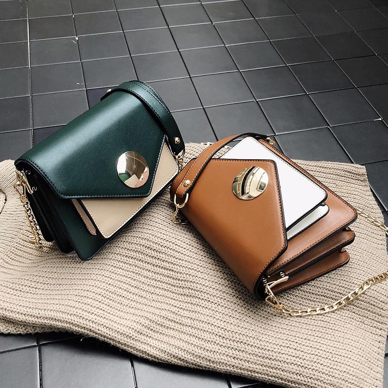 Trendy women's bag single shoulder oblique cross-pack summer new color impact chain Xiao Fang bag cross-border fashion