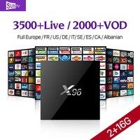 Latest X96 Amlogic S905X Quad Core Android 6 0 TV BOX 2G 16G KODI 16 1