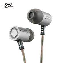 KZ ED4 In Ear Auricolari In Metallo Basso Pesante Standard di Isolamento Acustico Riflettente Linea Stereo da 3.5mm Stereo Per Cuffie con Microfono auricolari