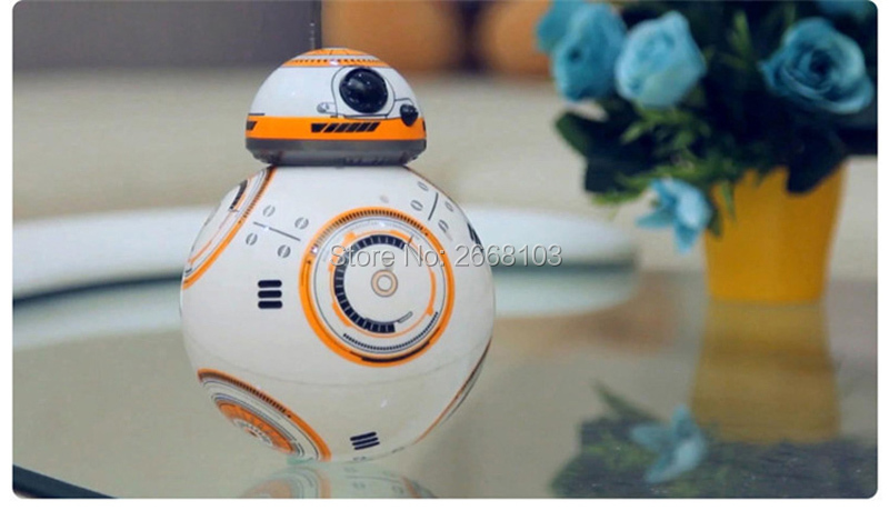 Upgrade Model Ball Star Wars RC BB-8 Droid Robot BB8 Intelligent Robot 2.4G Remote Control Toys For Girl Gifts With Sound Action 22