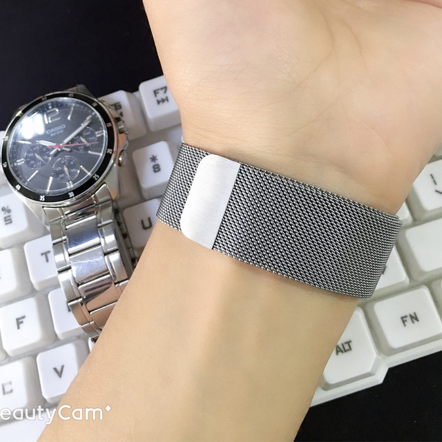 Milanese loop Strap for apple watch band correa apple watch 4 iwatch Band 42mm 38mm 44 mm 40 stainless steel Bracelet watchband 1