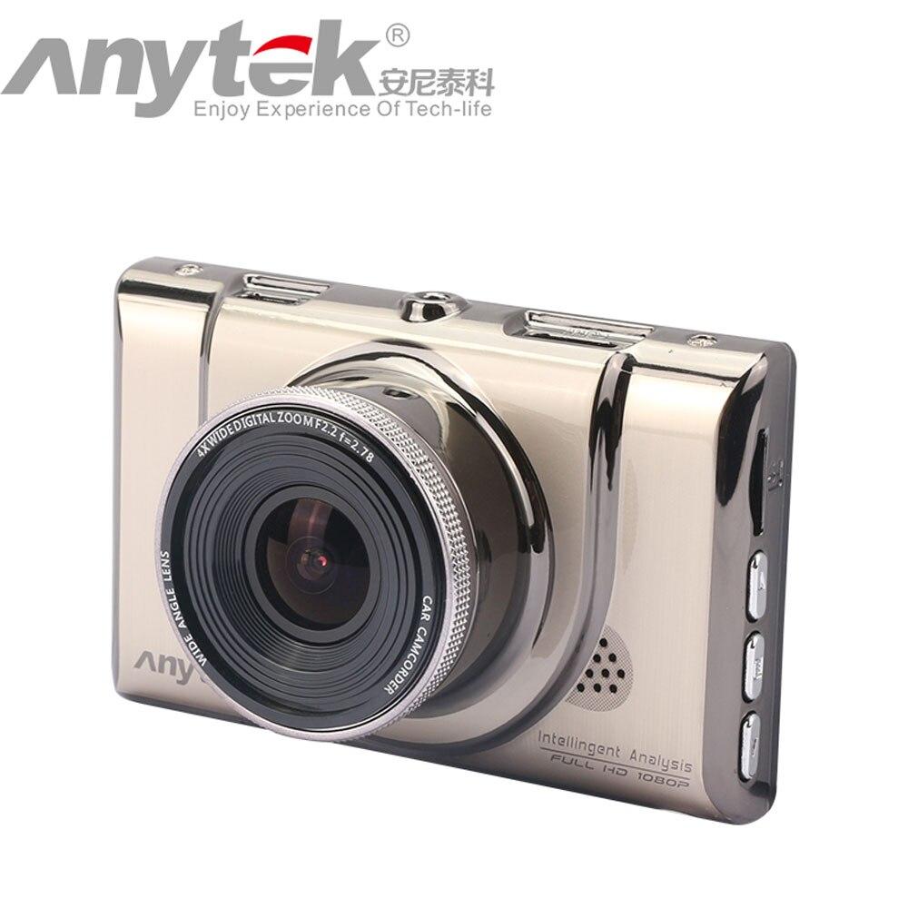 ФОТО Original Anytek A100+ Car DVR with NTK96650 CPU 3.0inch Screen Full HD1080P 170 Car Camcorder