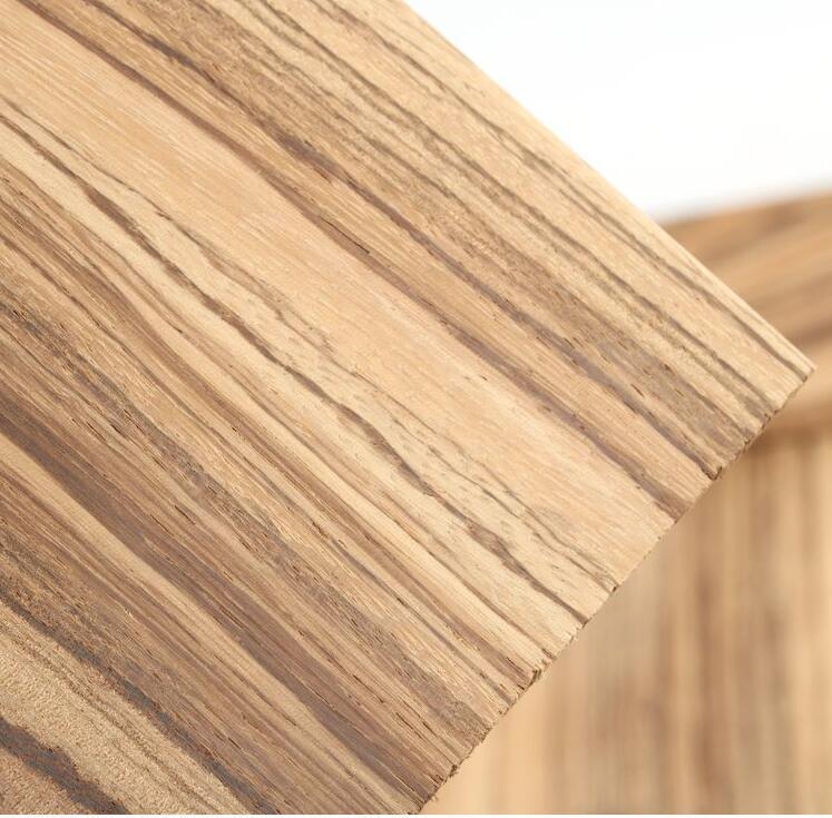 Купить с кэшбэком Zebra wood Microberlinia brazzavillensis Knife handle wood Spoon Making materials  1 piece price