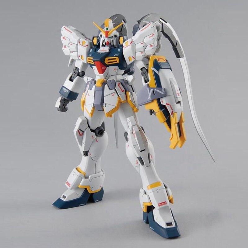 Image 4 - BANDAI Model MG 1/100 New Mobile Report Gundam Wing EW Sandrock Gundam Effects Action Figure Model ModificationAction & Toy Figures   -