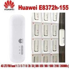 Лот из 10 шт. 100% оригинал huawei разблокирована E8372 Wingle LTE Универсальный 4 г USB модем автомобилей, Wi-Fi