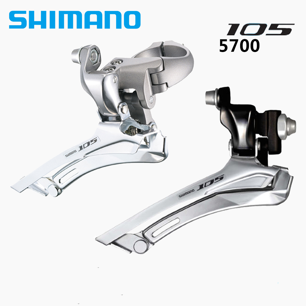 a65453ec01d Shimano 105 FD 5700 Road Bike Front Derailleur 10 Speed Braze on / Clamp  31.8mm 34.9mm Black / Silver-in Bicycle Derailleur from Sports &  Entertainment on ...