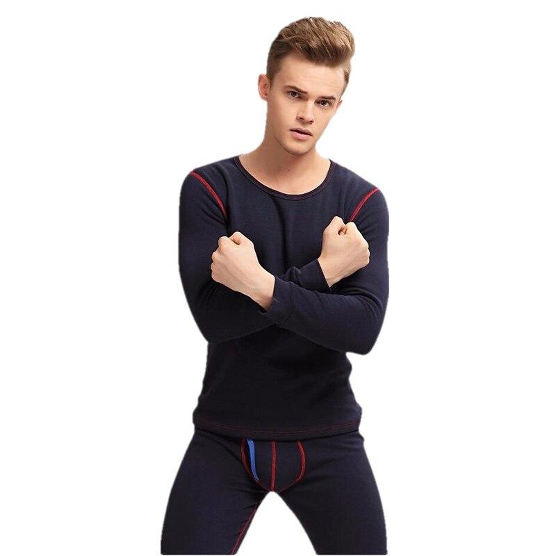 2018 offre spéciale sous-vêtement thermique hommes longs Johns hiver hauts + pantalon ensemble chaud épais Plus velours M193 M-XXL
