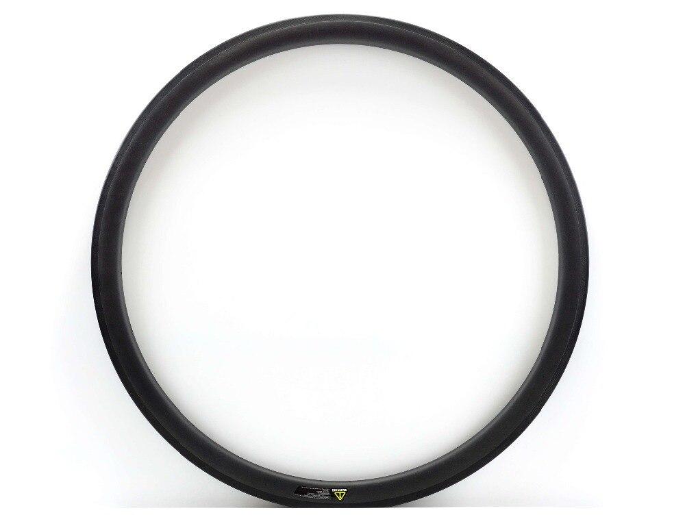 Asymmetrical Carbon wheels 700C 38mm depth 25mm Width Light Weight Clincher/tubular Road Bike wheels UD matte finish цена