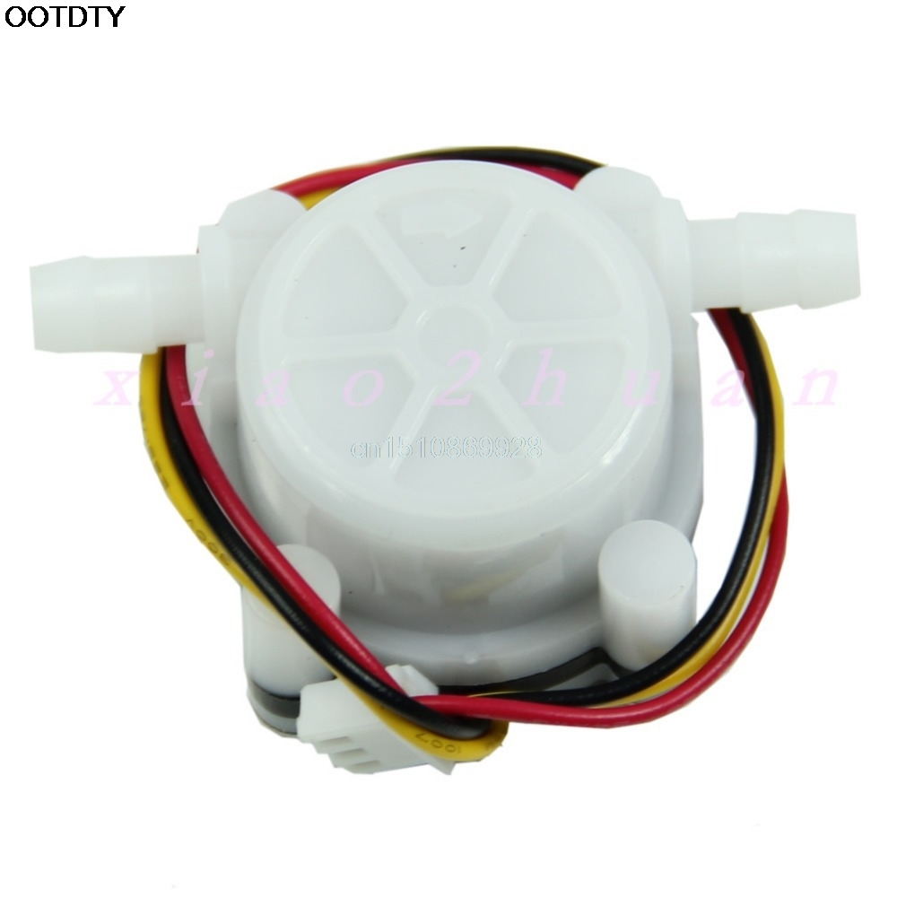 Flow Sensor Switch Meter Flowmeter Counter 0.3-6L/min 1pc Water Coffee New M126 Hot Sale