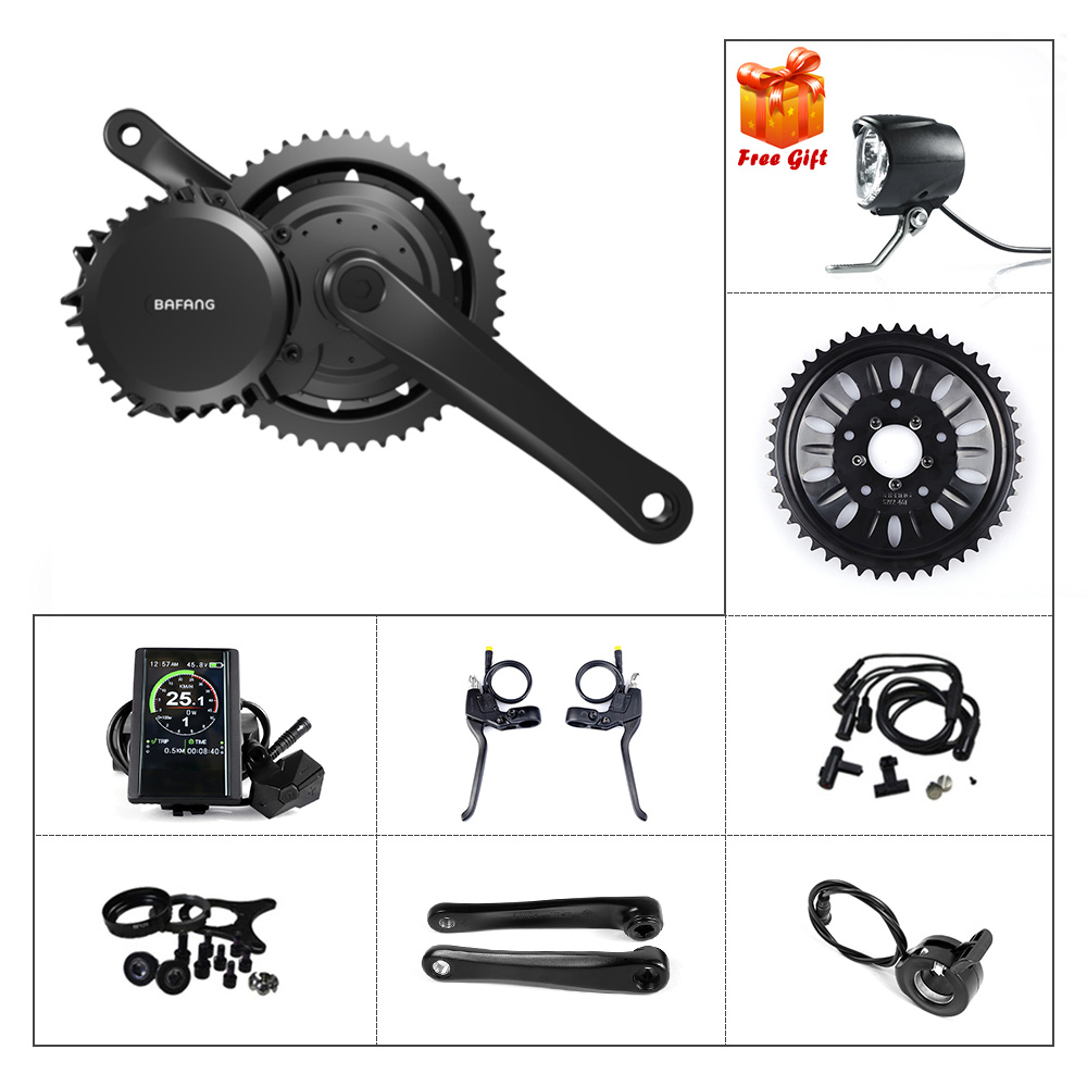Bafang 48V 1000W E bike 68 73 mm Motor Mid Drive E Bike DIY Conversion Kits