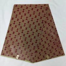 Abstract Mitex Block Wax Print African Fabrics,Blue /Kitenge /Lapa 6yards Free shipping NAW-147