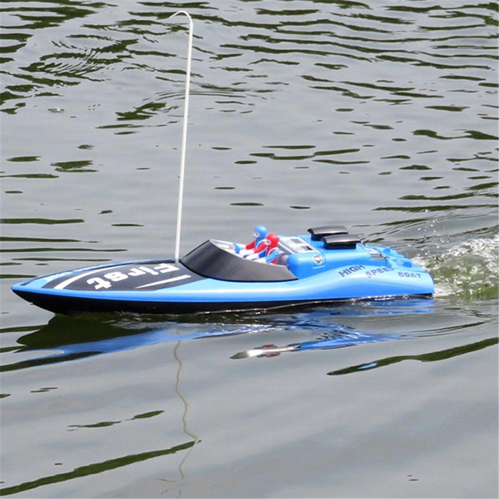 Haute qualité hors-bord RC bateau jouet pour enfants nouvelle apparence exquise exécution RC bateaux Brithday noël cadeaux pour enfants enfant