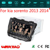 Wekeao Car Audio/Radio System For Kia Sorento 2013 2014 With Car Stereo DVD Play System GPS Navigation 3G Wifi Android 7.1