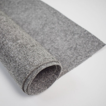 Artificial Wool Felt bag material fabric Diy Handmade Design Personal Bag Home decor felt fabric 2mm,3mm,4mm 45x90cm roll photochromic wool fabric