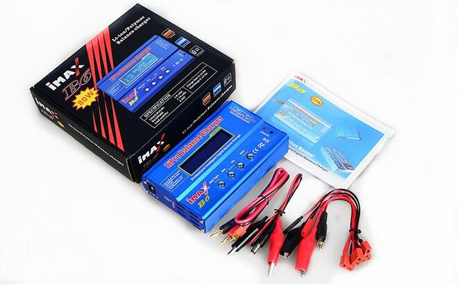 iMAX B6 AC Digital LCD RC Lipo NiMh NiCD Battery Balance Charger for RC Model imax b6 digital lcd lipo nimh battery balance charger power adapter 12v 5a register free shipping
