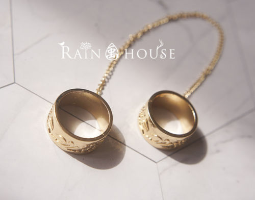 Spiritpact Anime Ling Qi Yang Jinghua Duanmu Xi Alloy Ring Cosplay Prop Gift New Hot
