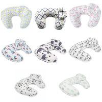 Multi functional U shape Baby Pillow Soft Pure Cotton Feeding Breastfeeding Nursing Pillow Anti Slip For Infant Baby Care