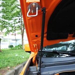 Image 5 - Крышка капота для Jeep Renegade 2016, 2017, 2018, 2019, стойка гидравлического стержня, телескопическая штанга, капот двигателя, поддержка подъема, автомобильные аксессуары