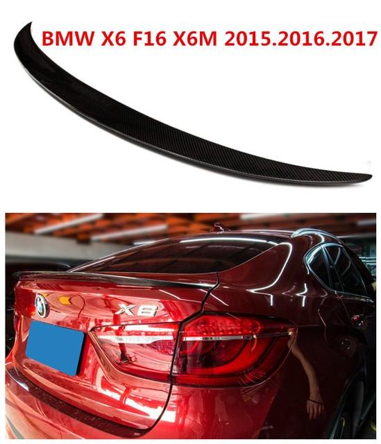 Bmw X6m 2015: Car Carbon Fiber Spoiler For BMW X6 F16 X6M 2015.2016.2017