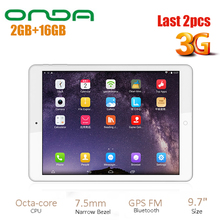 NEW Onda V919 3G Air Android 4.4 Phone Tablet PC 9.7 Inch MTK8392 2.0GHz QXGA IP