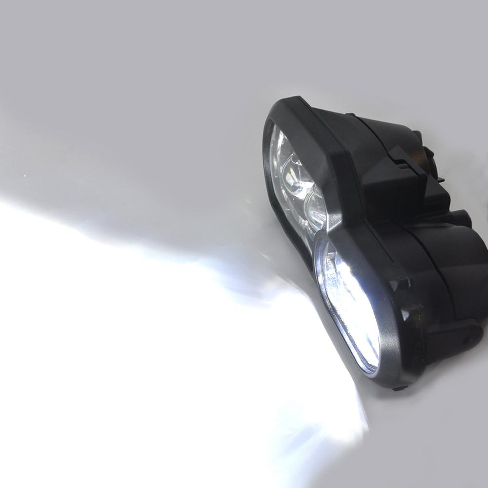 Phare de moto pour BMW F800GS F800R F700GS F650GS aventure motos complet projecteur LED phare - 6