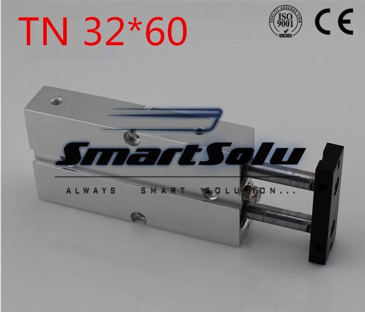 ФОТО Free Shipping Bore 32mm Stroke 60mm Port 1/8 TN 32*60