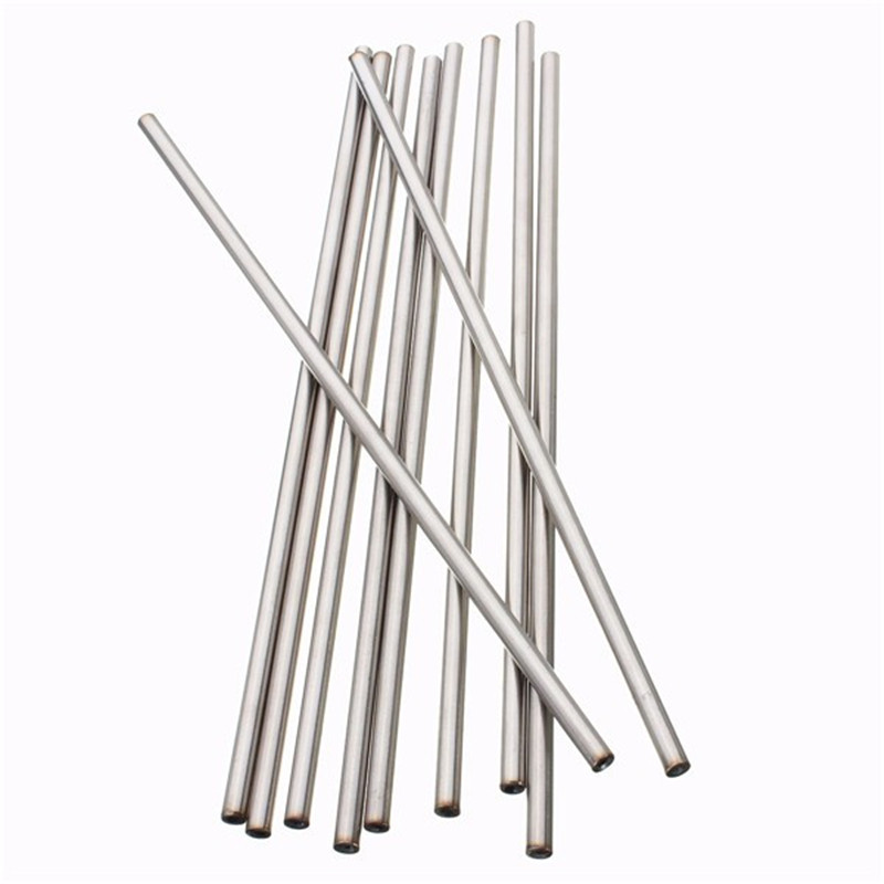 5Pcs 304 Stainless Seamless Steel Capillary Tube OD 5mm x 3mm ID Length 250mm Polished Surface Rust Protection 22 12 200mm od id length brass seamless pipe tube of astm c28000 cuzn40 cz109 c2800 h59 hollow bar iso certified industry
