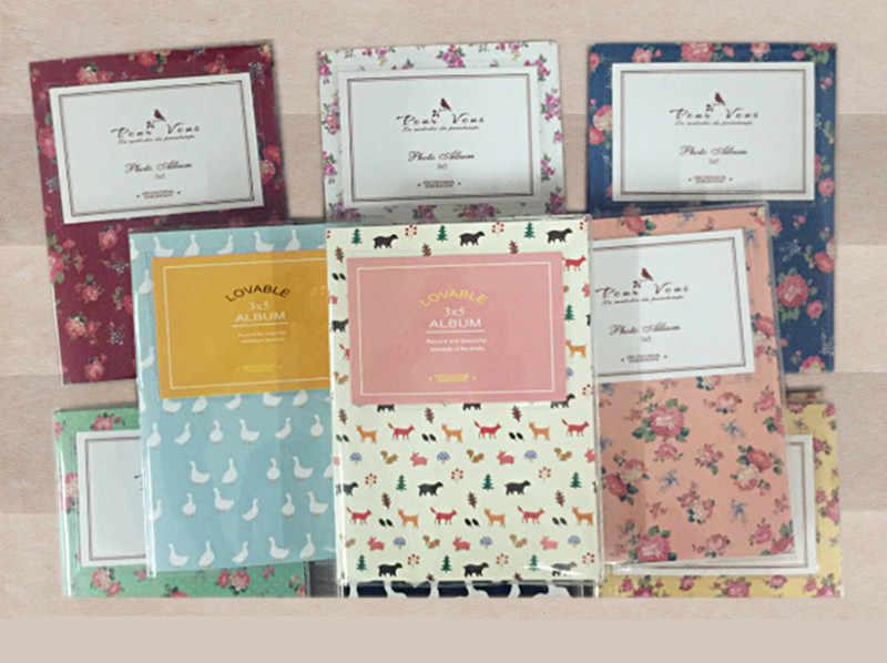 5inch Interstitial  photo album Wedding Photos Children Family Memory Record Scrapbooking Album Sticky Type Lovers Birthday Gift