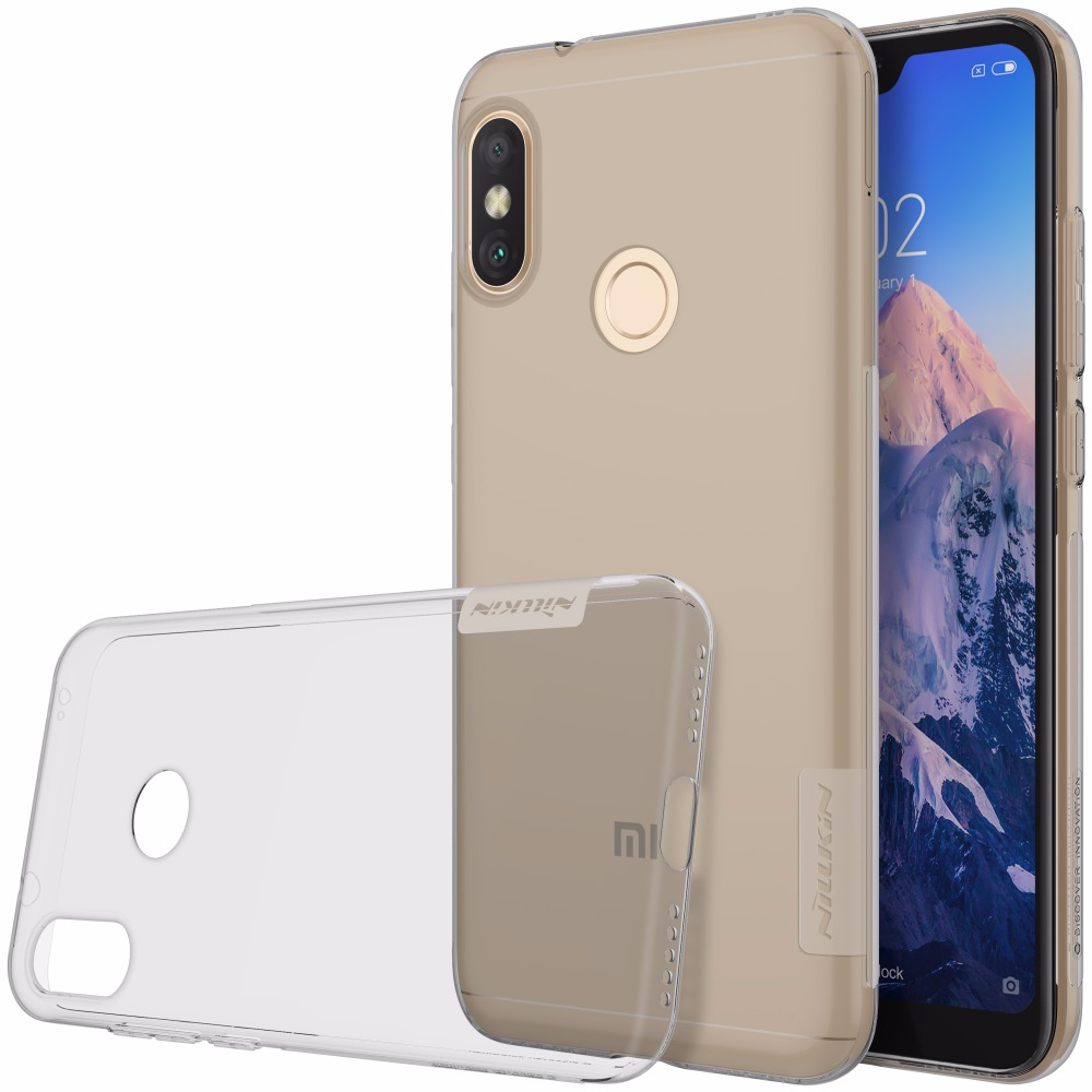 Nillkin Clear Soft Nature Tpu Case For Xiaomi Redmi Note 5 6 Pro Case Cover Thin Silicon Cover For Redmi 6 Pro Mi A2 Lite Boys' Shoes Kids' Clothes, Shoes & Accs.