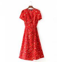 6325a3e8f389d Buy designer wrap dress and get free shipping on AliExpress.com