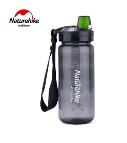 Naturehike Factory Store 500ML Outdoor camping hiking Sports quick open Water Bottle Tra ...