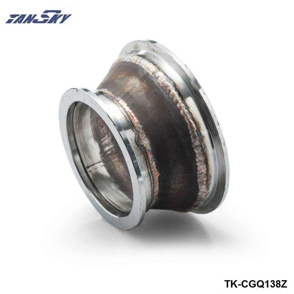 """3 """"a 4"""" tubo de escape de acero v-band adaptador Vband V band 3,0 adaptador brida CNC 3 en 4 TK-CGQ138Z"""