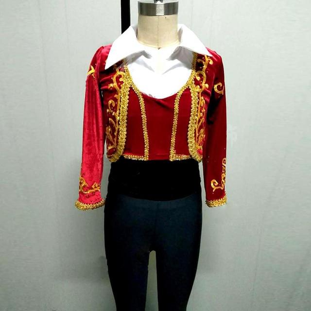 Homme-Rouge-Ballet-Costumes-Y-Compris-Manteau-Top-Ceinture-et-Pantalon -Don-Quichotte-Ballet-Danse-Ensemble.jpg 640x640.jpg ce991bce108