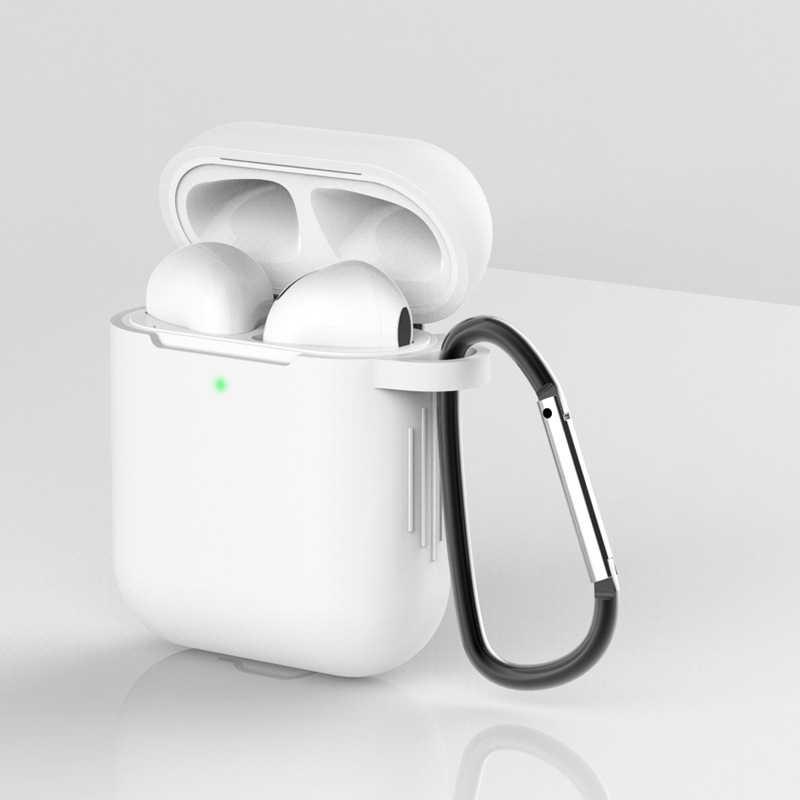 Airpods ため空気ポッド耐衝撃イヤホン保護用防水 iphone 7 8 ヘッドセットアクセサリー