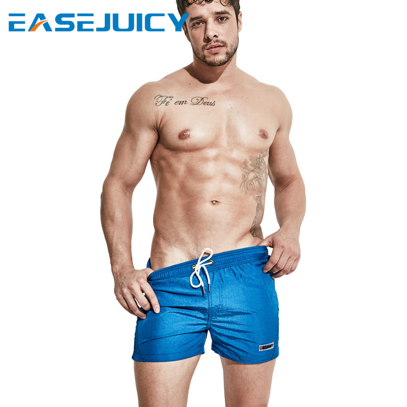 Swimming suit   board     shorts   Men's joggers quick dry plavky liner swimwear beach   shorts   hawaiian bermudas swimsuit sexy surfing