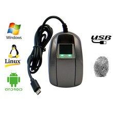 HF huella dactilar biométrica del USB lector Digital Android Micro USB OTG Impresión de dedo escáner SDK libre PHP para Windows sistema Android
