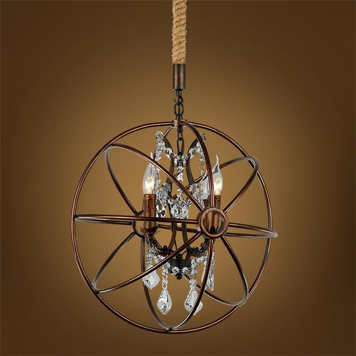 Rustic Crystal Chandeliers popular orb chandelier-buy cheap orb chandelier lots from china
