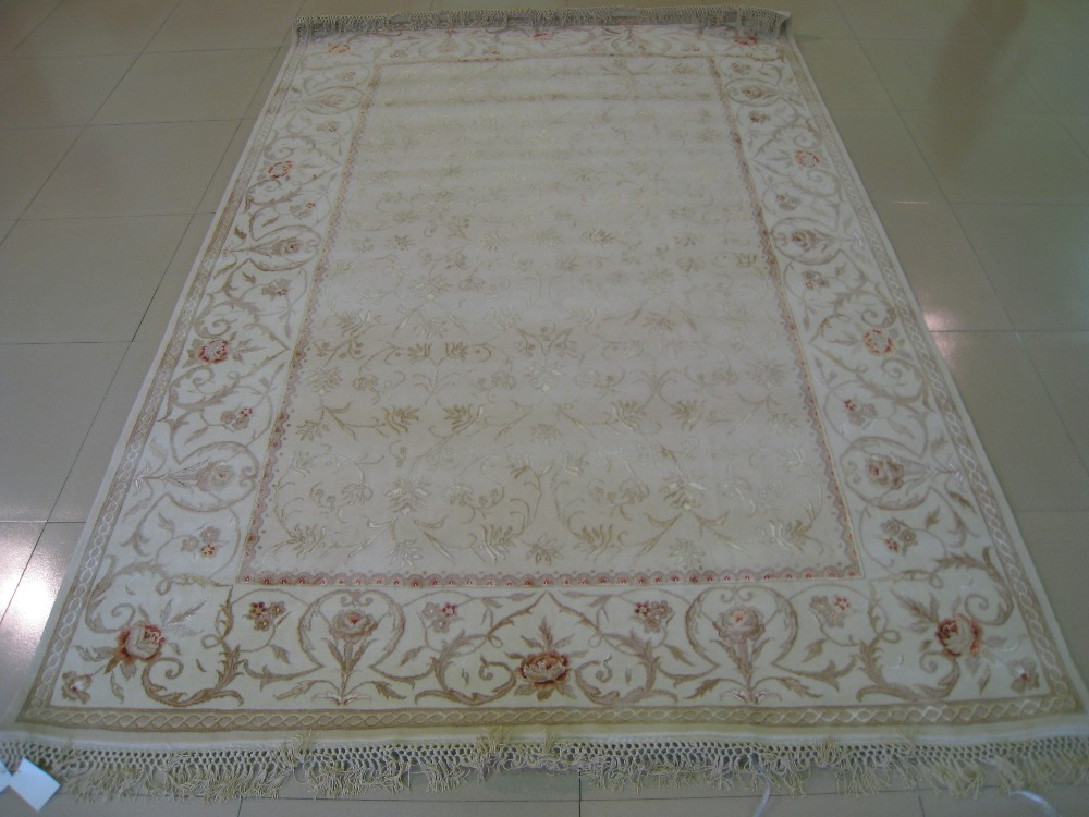 Free shipping  2.08X3.07M 160Line Hand-knotted Persian Rug, Persian - Home Textile