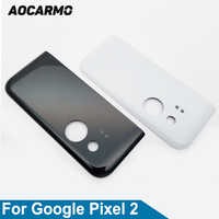 """Aocarmo Original New Back Glass Housing Camera Cover With Adhesive For Google Pixel 2 Replacement 5.0"""" Inch"""