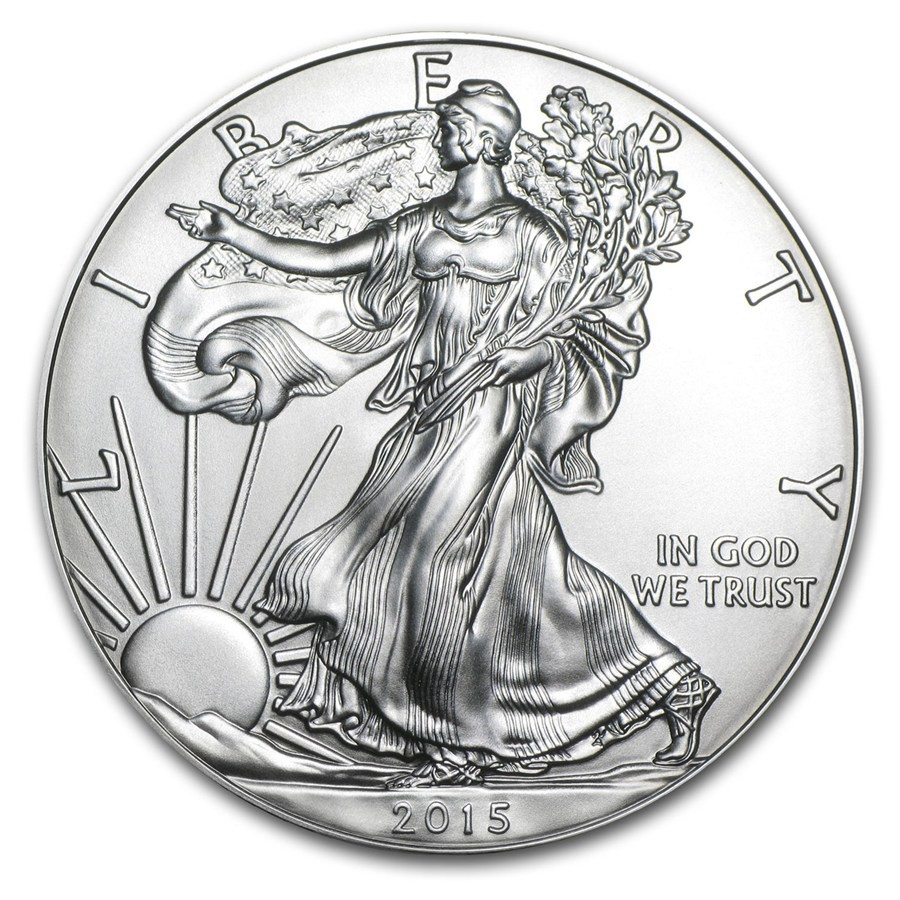 2015 1 oz Silver American Eagle Coin (3)