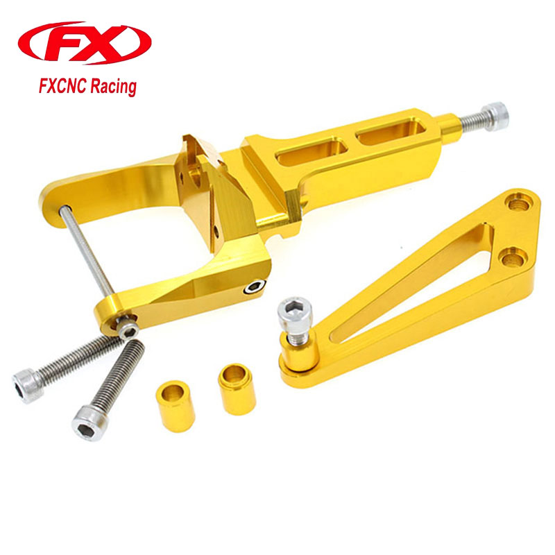 FX CNC Motorcycle Accessories Adjustable Steering Stabilize Damper Bracket Mounting Kits Fit for HONDA CB1300 2003-2011 domix tip remover средство для снятия искусственного покрытия 500 мл