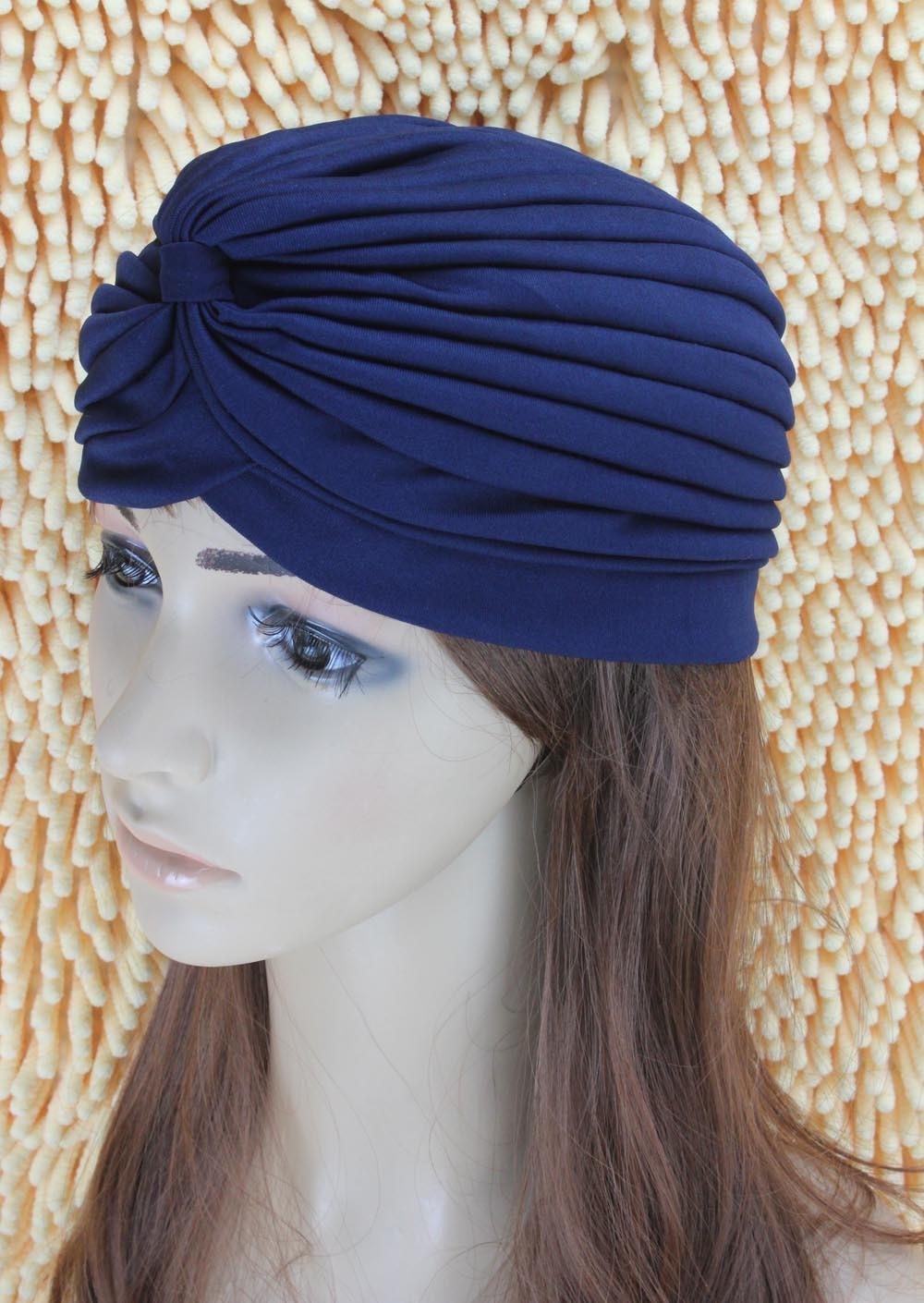 Mode Indian Unisex Head Wrap Cap vrouwen tulband Bandana indian caps - Kledingaccessoires - Foto 5